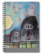 Three Eyes Spiral Notebook