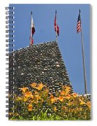 Three Flags In Memphis Tennessee Spiral Notebook