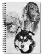 Three Friends Spiral Notebook