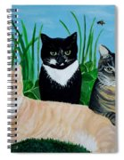 Three Furry Friends Spiral Notebook