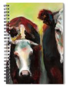 Three Generations Of Moo Spiral Notebook