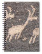 Three Goats Spiral Notebook