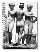 Three Graces Spiral Notebook
