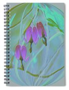 Three Hearts  Spiral Notebook