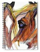 Three Horses Talking Spiral Notebook