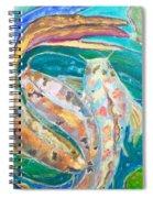 Three Koi Spiral Notebook