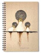 Three Ladies On A Dock  Spiral Notebook