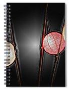 Three Lanterns Spiral Notebook