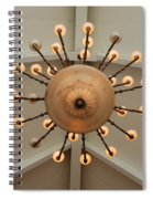 Three Lights Out Spiral Notebook