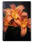 Three Lilies Spiral Notebook