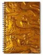 Three Lions Spiral Notebook
