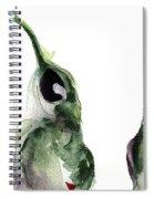 Three Little Hummers Spiral Notebook