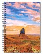 Three Mesas Spiral Notebook