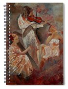 Three Musicians  Spiral Notebook