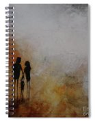 Three Of Us  Spiral Notebook