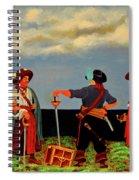 Three Pirates Spiral Notebook