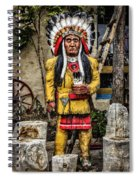 Three Rivers Indian Spiral Notebook