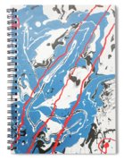 Three Roads And Four Islands Spiral Notebook