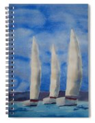 Three Sails Spiral Notebook