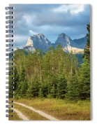 Three Sisters And A Dirt Road Spiral Notebook