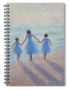 Three Sisters Beach Spiral Notebook