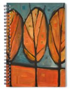 Three Sisters Fall Spiral Notebook