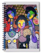 Three Sisters Spiral Notebook
