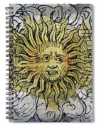 Three Suns, Nuremberg Chronicles, 1493 Spiral Notebook