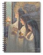 Three Wise Virgins Spiral Notebook