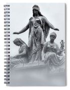 Three Woman Spiral Notebook