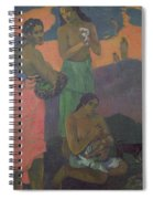 Three Women On The Seashore Spiral Notebook