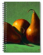 Three Yellow Pears Spiral Notebook