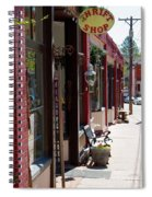 Thrift Shop And Sign In Manitou Springs Spiral Notebook