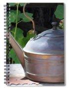 Thrift Store Teapot Spiral Notebook