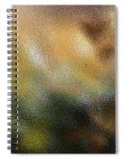 Through A Glass Lightly Spiral Notebook