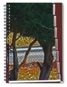 Through My Neighbors Porch Spiral Notebook