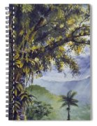 Through The Canopy Spiral Notebook