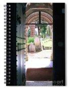 Through The Door Of St Mylor Spiral Notebook