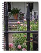 Through The Fence Spiral Notebook