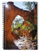 Through The Golden Arch Spiral Notebook