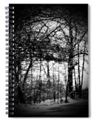 Through The Lens- Black And White Spiral Notebook