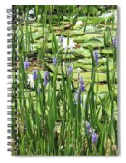 Through The Lily Pond Spiral Notebook