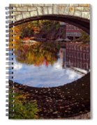 Through The Looking Glass Spiral Notebook