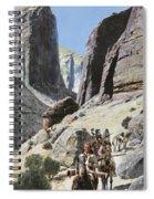 Through The Pass Spiral Notebook