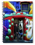 Through The Rabbit Hole Spiral Notebook
