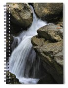 Through The Rocks Spiral Notebook