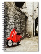 Through The Streets Of Italy - 01 Spiral Notebook