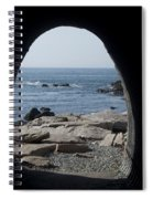 Through The Tunnel Spiral Notebook
