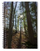 Through The Woods Spiral Notebook
