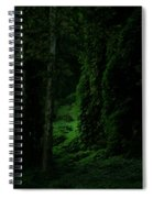 Through The Woods Dark And Deep Spiral Notebook